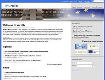 eurolibnet.eu screenshot