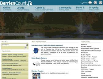 berriencounty.org screenshot
