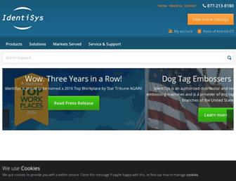 identisys.com screenshot