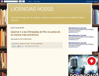 nod32-actualizado.blogspot.com screenshot