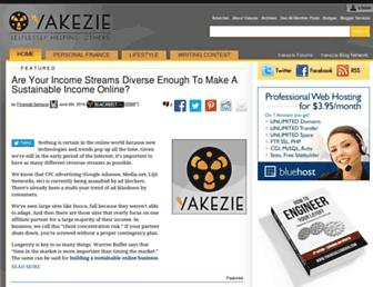 Thumbshot of Yakezie.com