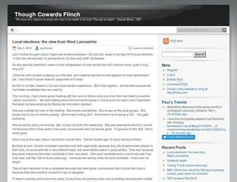 thoughcowardsflinch.com screenshot