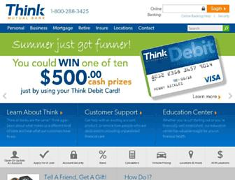 thinkbank.com screenshot