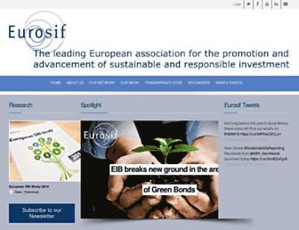 eurosif.org screenshot