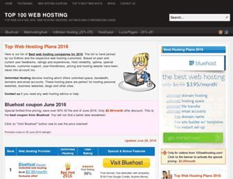Thumbshot of 100webhosting.com