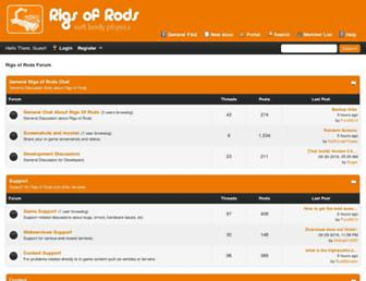 forum.rigsofrods.org screenshot
