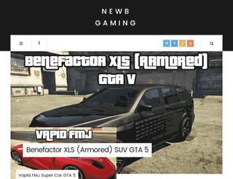 gaming.newbcomputerbuild.com screenshot