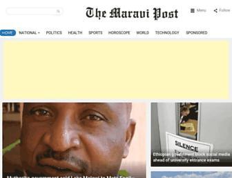 maravipost.com screenshot