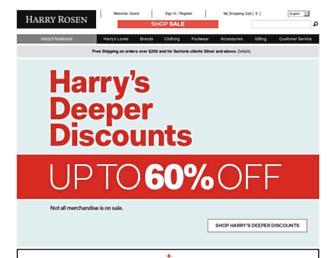 Thumbshot of Harryrosen.com