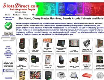 slotsdirect.com screenshot