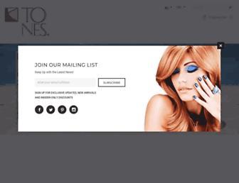 tonesproducts.com screenshot