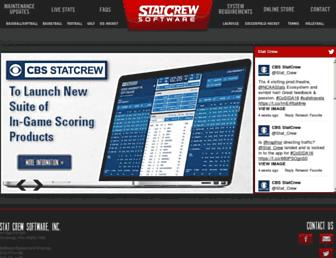 statcrew.com screenshot