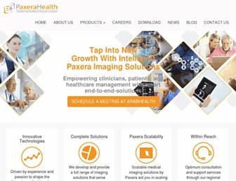 paxerahealth.com screenshot
