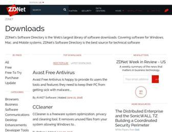 downloads.zdnet.com screenshot