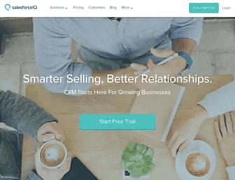 Thumbshot of Relateiq.com