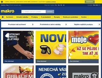 Thumbshot of Makro.cz