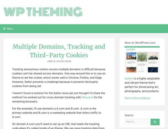 Thumbshot of Wptheming.com