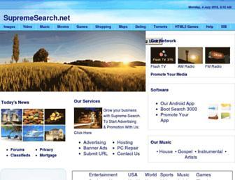 Thumbshot of Supremesearch.net