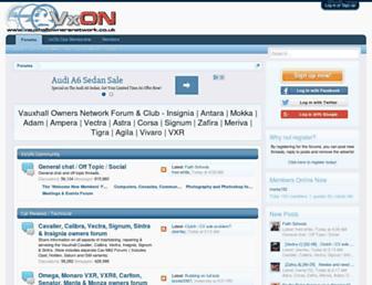 Fullscreen thumbnail of vauxhallownersnetwork.co.uk