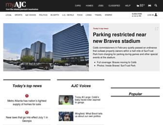 myajc.com screenshot