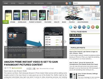 anyphonesoftware.blogspot.com screenshot