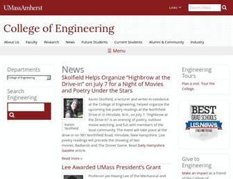 ecs.umass.edu screenshot