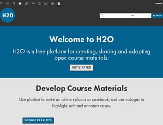 h2o.law.harvard.edu screenshot