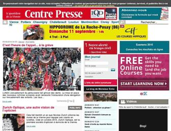 centre-presse.fr screenshot