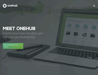 Thumbshot of Onehub.com