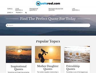 quotereel.com screenshot