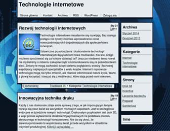 Main page screenshot of dailytech.pl