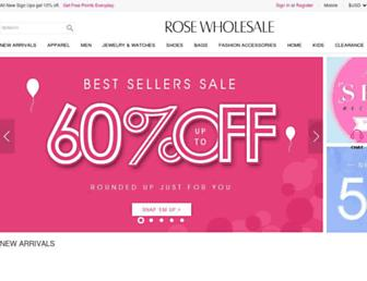 Thumbshot of Rosewholesale.com