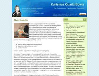 karismasquartzbowls.com screenshot
