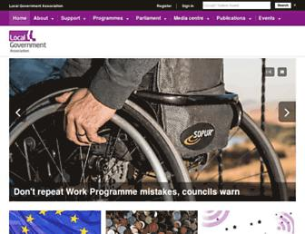 local.gov.uk screenshot