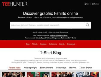 Thumbshot of Teehunter.com