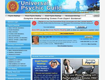 psychicguild.com screenshot