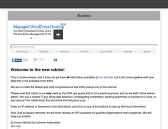 robtex.net screenshot
