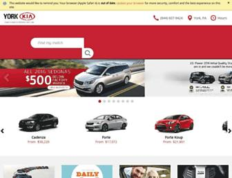 yorkkia.com screenshot