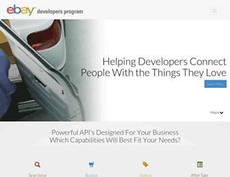 go.developer.ebay.com screenshot