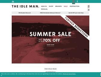 theidleman.com screenshot