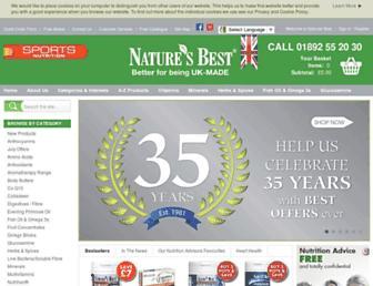 Thumbshot of Naturesbest.co.uk
