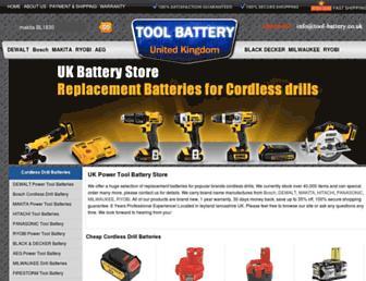 tool-battery.co.uk screenshot