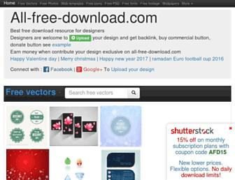all-free-download.com screenshot