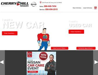 cherryhillnissan.com screenshot