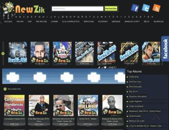 newzik.org screenshot