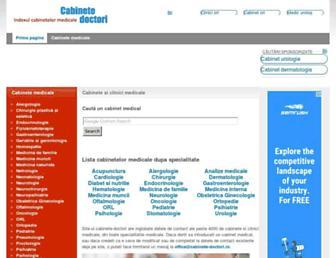 cabinete-doctori.ro screenshot