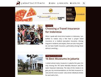 Thumbshot of Jakarta100bars.com