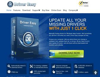 drivereasy.com screenshot