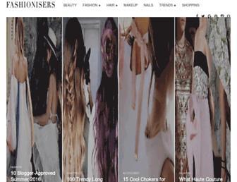 fashionisers.com screenshot
