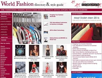 world-fashion.info screenshot